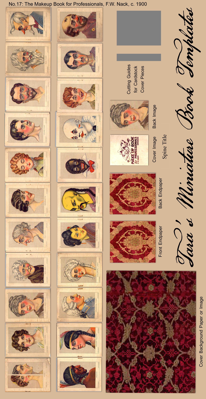 ... Free Miniature Books for Dollhouse Use by Tara Maginnis